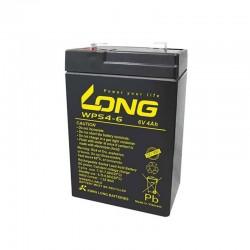 Baterija Long WPS4-6 6V 4Ah
