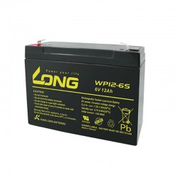 Baterija Long WP12-6S 6V 12Ah