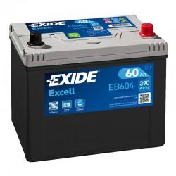 Exide Excell EB604 12V 60Ah...
