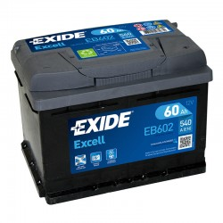 Exide Excell EB602 12V 60Ah...