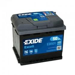 Exide Excell EB501 12V 50Ah...