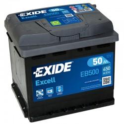 Exide Excell EB500 12V 50Ah...