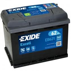 Exide Excell EB621 12V 62Ah...