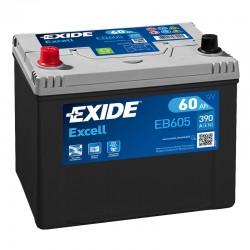 Exide Excell EB605 12V 60Ah...