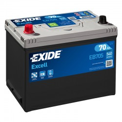Exide Excell EB705 12V 70Ah...