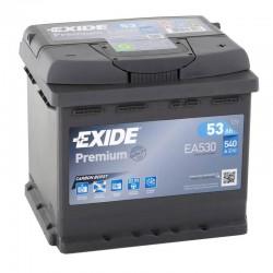 Exide Premium EA530 53Ah 540A