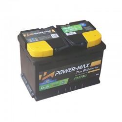 Power-Max PM750 12V 75Ah
