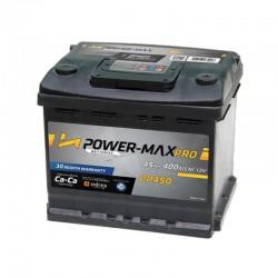 Power-Max Pro 12V 45Ah PP450