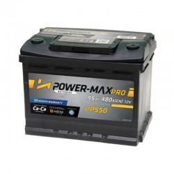 Power-Max Pro 12V 55Ah PP550