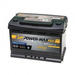 Power-Max Pro 12V 74Ah PP740